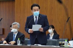 羽田次郎参議院議員 初質問